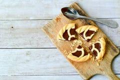 Schokolade crostata lizenzfreie stockfotografie