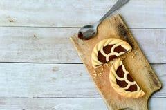 Schokolade crostata lizenzfreies stockbild