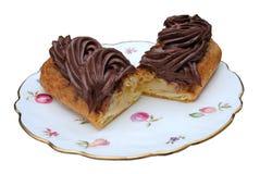 Schokolade Eclair Lizenzfreies Stockbild