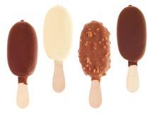 Schokolade Eiscreme lizenzfreie stockbilder