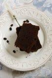 Schokolade loafcake Stockbilder