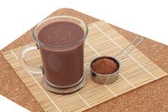 Schokolade Maca-Gesundheits-Getränk lizenzfreie stockbilder