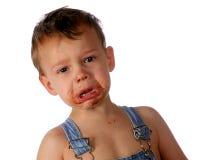 Schokolade mit Rissen Lizenzfreies Stockfoto
