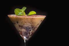 Schokolade Tiramisu lizenzfreies stockfoto