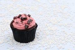 Schokolade und Erdbeere Stockbild