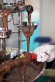 Schokolade und Frucht Stockbilder