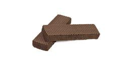 Schokolade Waffeln Stock Foto's