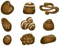Schokoladen Lizenzfreie Stockbilder