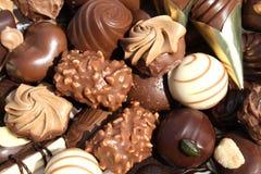 Schokoladen stockbilder