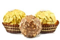 Schokoladen-Bälle lizenzfreies stockbild