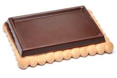 Schokoladen-Biskuit Lizenzfreie Stockfotos