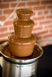 Schokoladen-Brunnen Lizenzfreies Stockfoto