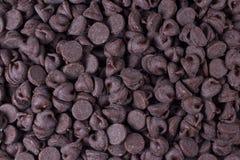 Schokoladen-Chips Stockbild