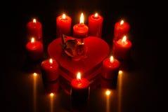 Schokoladen des Valentinsgrußes Lizenzfreies Stockfoto