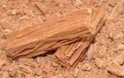 Schokoladen-Flocken-Stangen Lizenzfreies Stockfoto