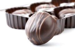Schokoladen getrennt Stockfoto