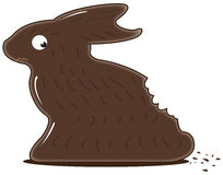 Schokoladen-Häschen Stockbilder