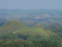 Schokoladen-Hügel Stockfoto