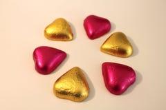 Schokoladen-Innere Stockfoto