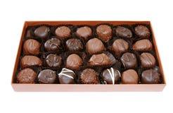 Schokoladen-Kasten Lizenzfreies Stockbild