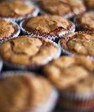 Schokoladen-kleine Kuchen Stockfoto