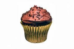Schokoladen-kleiner Kuchen Lizenzfreie Stockfotos