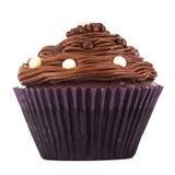 Schokoladen-kleiner Kuchen Stockfoto