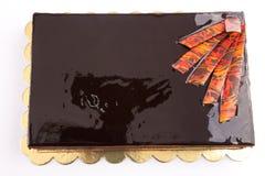 Schokoladen-Kuchen stockbilder