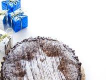 Schokoladen-Kuchen Lizenzfreies Stockbild
