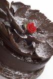 Schokoladen-Kuchen Stockfotografie