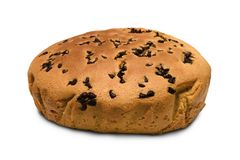 Schokoladen-Muffin-Kuchen Stockfoto