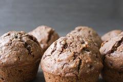 Schokoladen Muffin - Schokolade Stockfoto