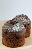Schokoladen-Muffins Lizenzfreie Stockbilder