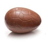 Schokoladen-Osterei lizenzfreie stockfotografie