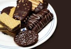 Schokoladen-Plätzchen Lizenzfreies Stockfoto