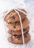 Schokoladen-Plätzchen stockfoto