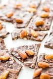 Schokoladen-Süßigkeiten stockfotos