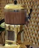 Schokoladen-schmelzende Maschine Lizenzfreies Stockfoto