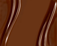 Schokoladen-Strudel Stockfotos