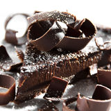 Schokoladen-Törtchen Lizenzfreie Stockfotos