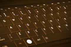 Schokoladen-Tastatur Lizenzfreie Stockbilder