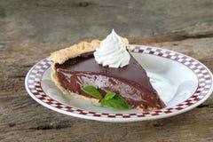 Schokoladen-Torte Stockbild
