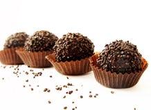 Schokoladen, Trüffeln Lizenzfreie Stockfotografie
