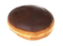 Schokoladen-Vanillepudding-Krapfen Lizenzfreies Stockbild