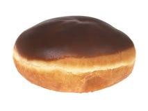 Schokoladen-Vanillepudding-Krapfen Stockbild