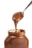 Schokoladen-Verbreitung stockfotos