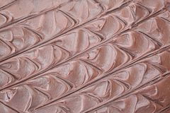 Schokoladen-Vereisung Lizenzfreies Stockbild