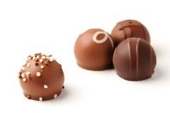 Schokoladen-Versammlung lizenzfreies stockfoto