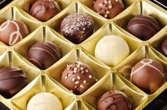 Schokoladen-Versammlung lizenzfreie stockbilder