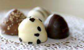 Schokoladen-Zusammenstellung Stockfotografie
